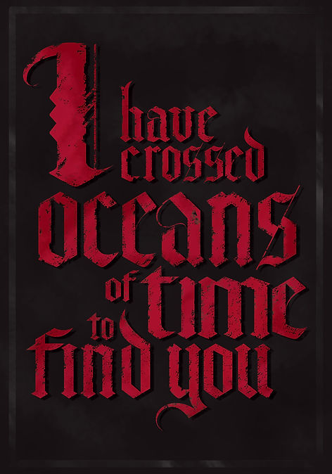 dracula quote Gary Oldman poster