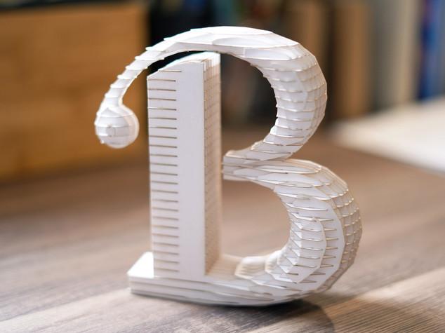3D Letter Design