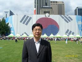 대한민국 태극기... 박동명