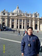 로마 교황청 앞에서...^^