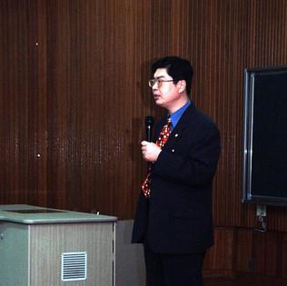박동명 박사 강의 모습