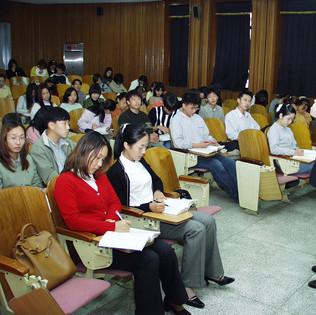 박동명 교수 강의 모습