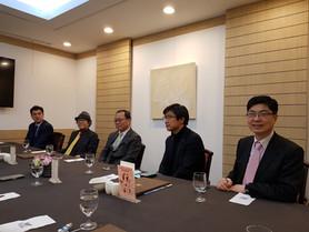 세종로국정포럼 의장단 회의 참석
