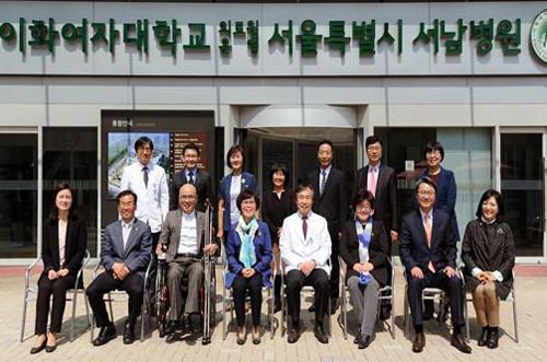 박동명 전문위원, 시립병원 방문