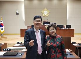 박동명 박사, 우수 지방의회 방문