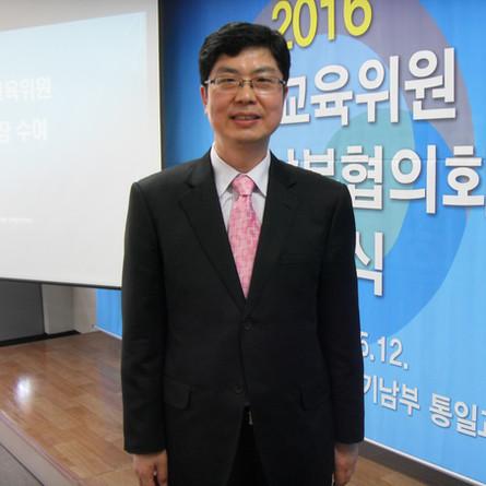 박동명 통일교육위원... 발대식에 참여