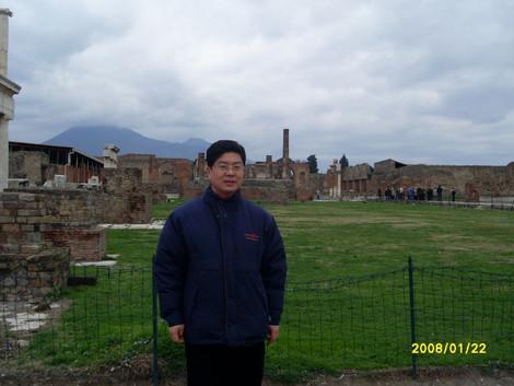 로마 유적지에서...박동명