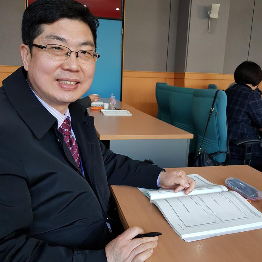 박동명 박사, 역량강화를 위한 직무 연수