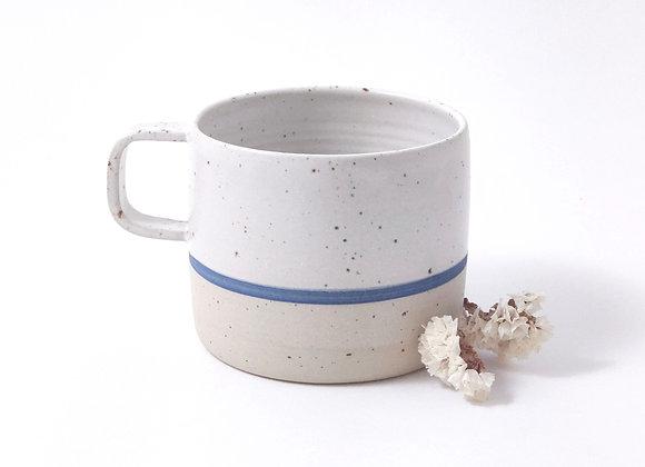 Mug - Martine - Blanc/bleu