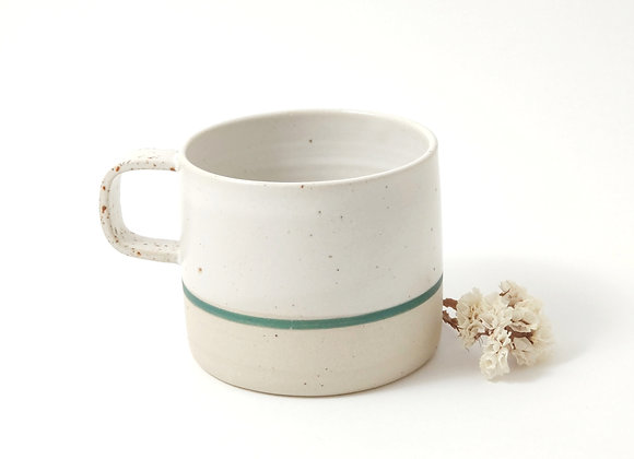 Mug - Martine - Blanc/vert