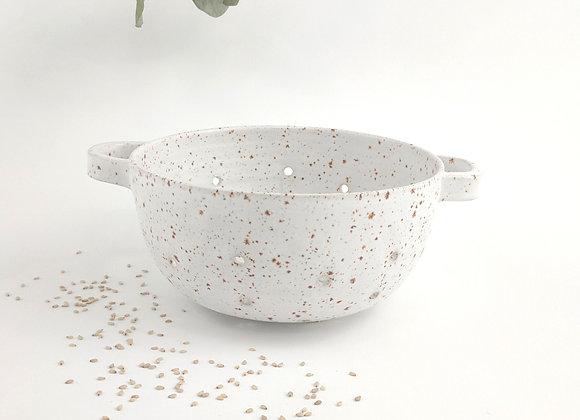 Passoire - Lilou PM - Blanc pyrité