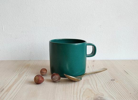Tasse à café Sidonie - Vert Chrome