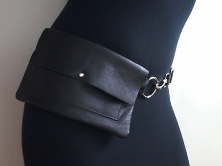 Saved By the Leather Fanny Pack