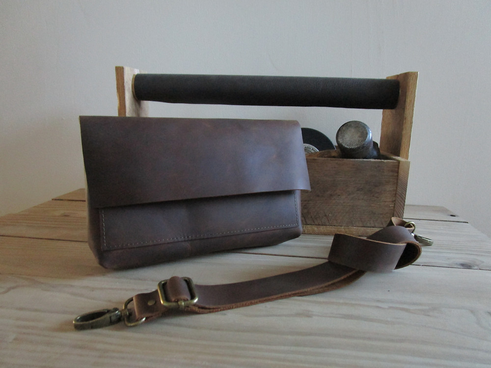 Orly Brown Leather Mens Fanny Pack