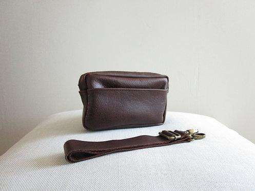 Dame Brick Leather Belt Bag