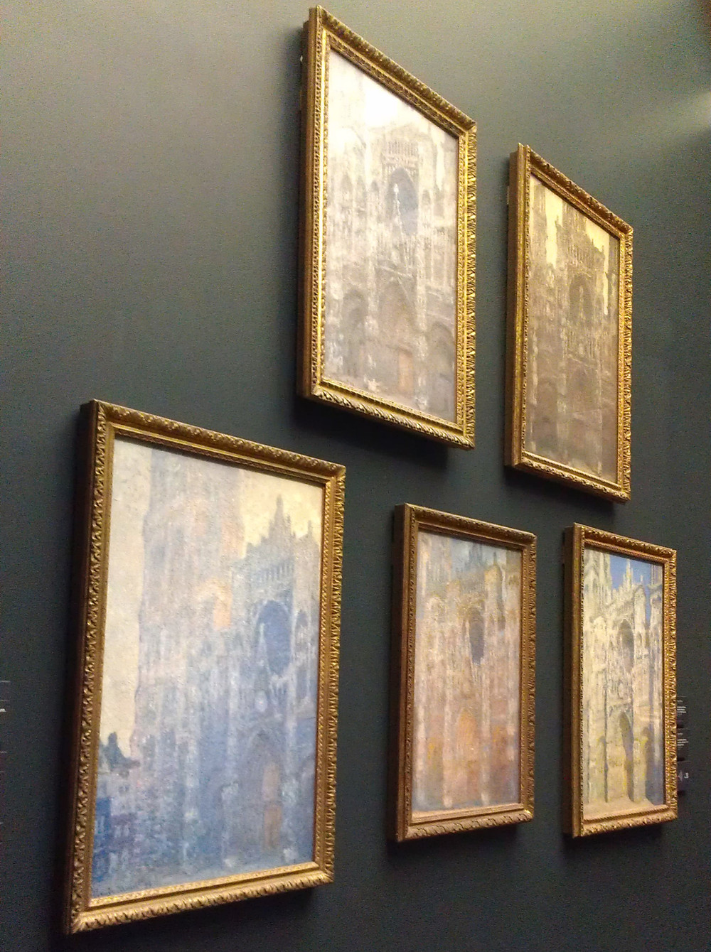 Five Rouen Cathedral Paintings By Claude Monet