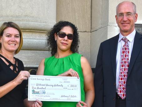 Crest Savings Helps Fund Public Housing Resident BBQ