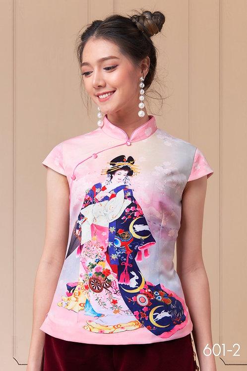 เสื้อจีน 602