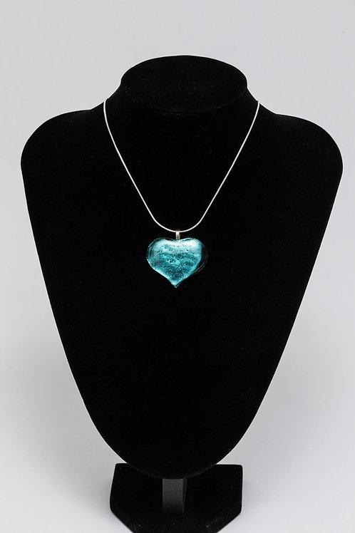 Alicia MacInnes   Sparkly Heart Pendant