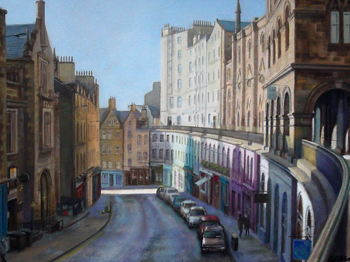 David Richardson Artwork | Victoria street, Edinburgh Print
