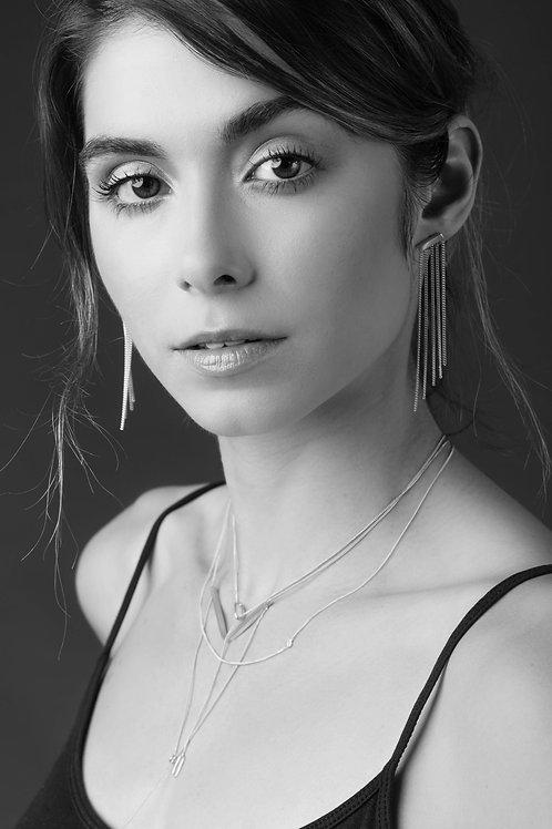 Myra-Ann Purcell Jewellery   Fringe Bar Earrings