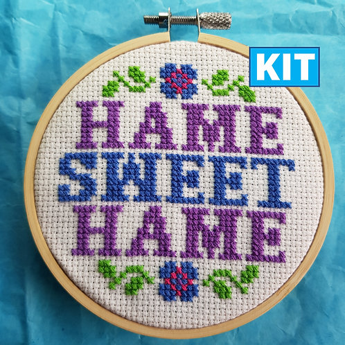 Son of a Cross Stitch | Hame Sweet Hame Cross Stitch Kit
