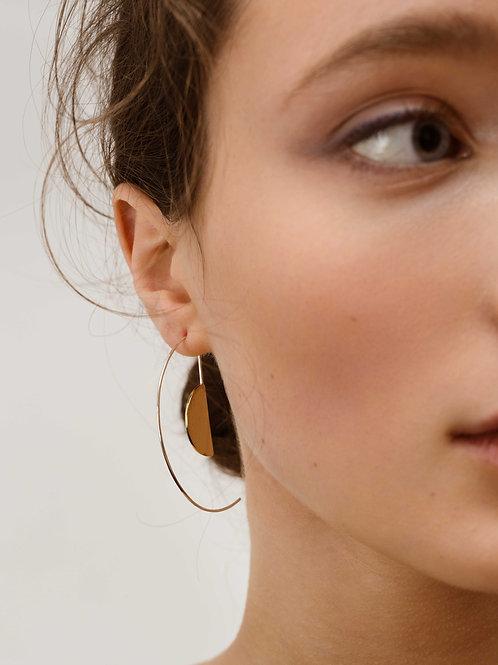 Catcher and Caught | Bauhaus Hoop Earrings