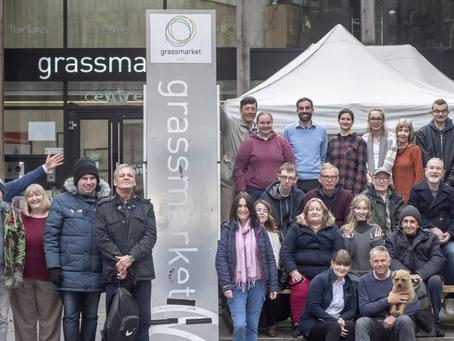 The Grassmarket Project, an Innovative Social Enterprise supporting Edinburgh's local Community