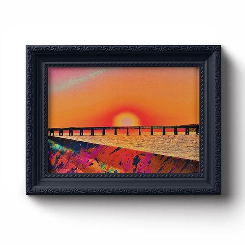 Paints Pylons | Dundee Rail Bridge Print