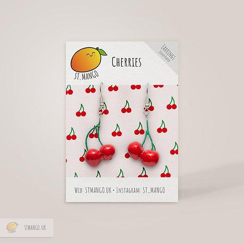 St.Mango | Cherry Earrings