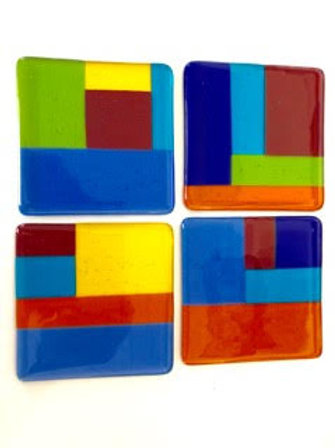 Glowing Glass | Coasters