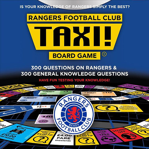 Taxi Board Game | Rangers FC Edition