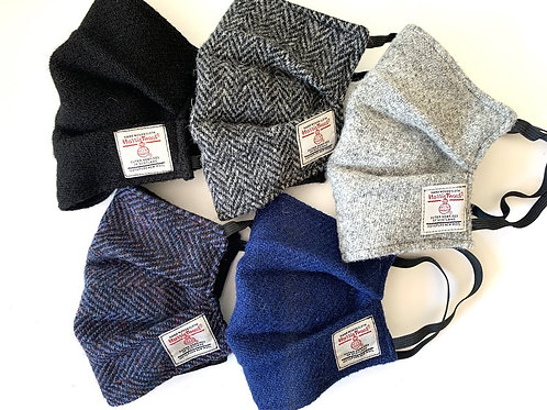 Bowzos | Harris Tweed Face Coverings