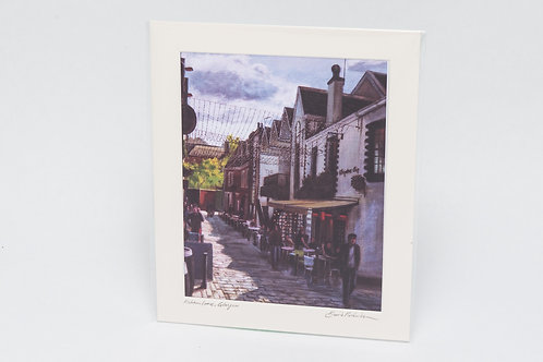 David Richardson | Ashton Lane, Glasgow by Day (Print)