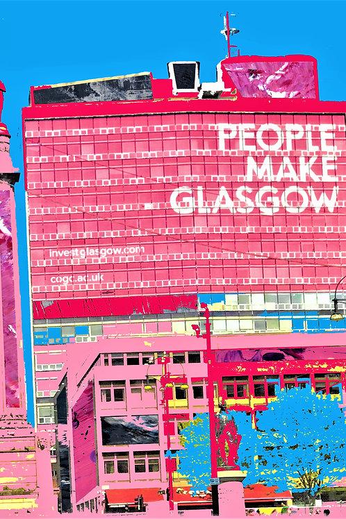 Paint Pylons | People Make Glasgow