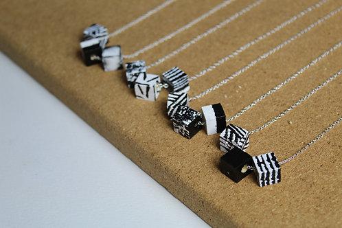 Jennifer Lemon Designs | 3 Mini Cubes Necklace