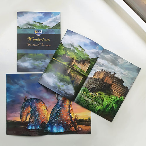 Sara Julia Illustration | Art book, Wanderlust: Scottish Scenes (softcover)