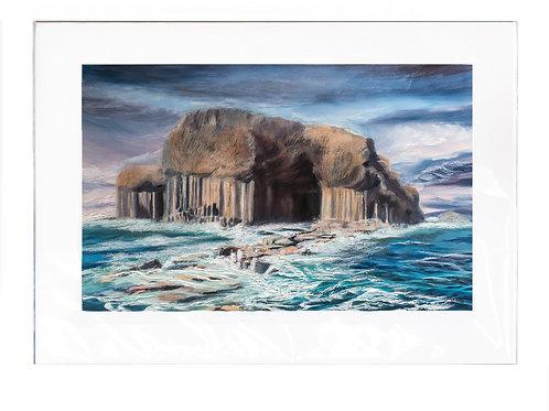 Scottish Island Art | Limited-Edition Staffa Print