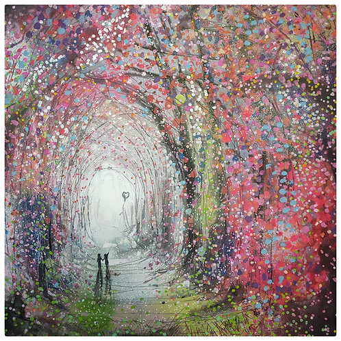 Kris McKinnon - A walk Through The Unknown 30x30cm Print