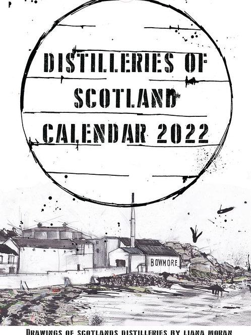 Liana Moran | Distilleries of Scotland 2022 Calendar