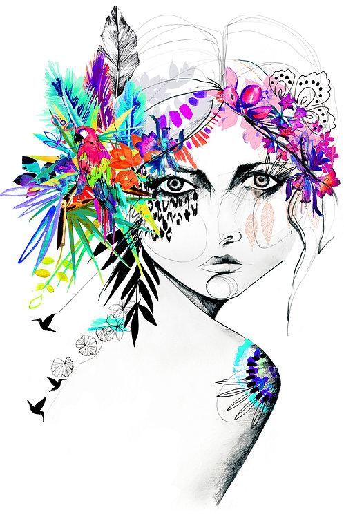 Holly Sharpe | Mardi Gras Edition Giclée Prints A3