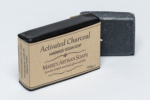 Marie's Artisan Soaps | Activated Charcoal Body Bar