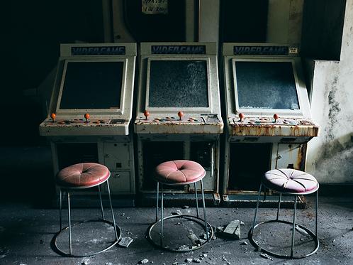 Alan Black | Abandoned arcade, Japan | 11x14in Print