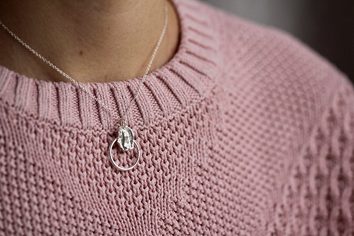 RR Designs | Petal Circle Necklace