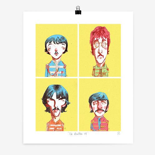 Alexander Jackson | 'The Beatles 01' Print