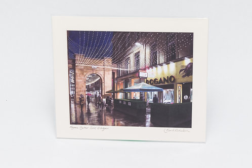 David Richardson   Rogano Oyster Bar, Glasgow (Print)