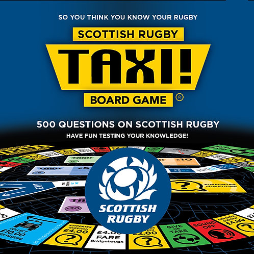 Taxi Board Game | Scottish Rugby Taxi Board Game