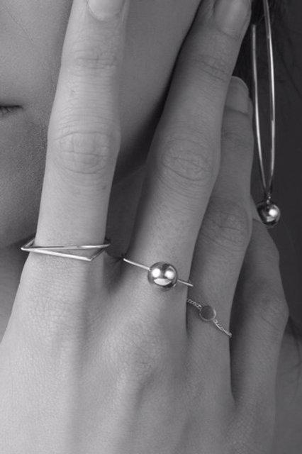 Myra-Ann Purcell Jewellery | Semi-Solid bead ring