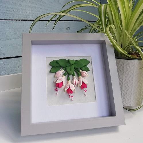 Its Uniquely Yours   Fuchsia Flowers Sculptural Art