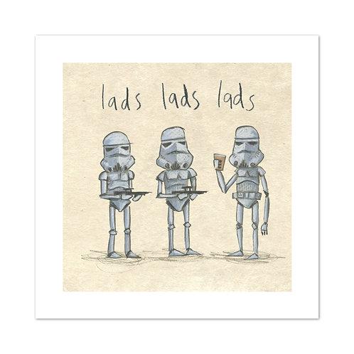 "The Grey Earl | ""Lads Lads Lads"" Digital Print"